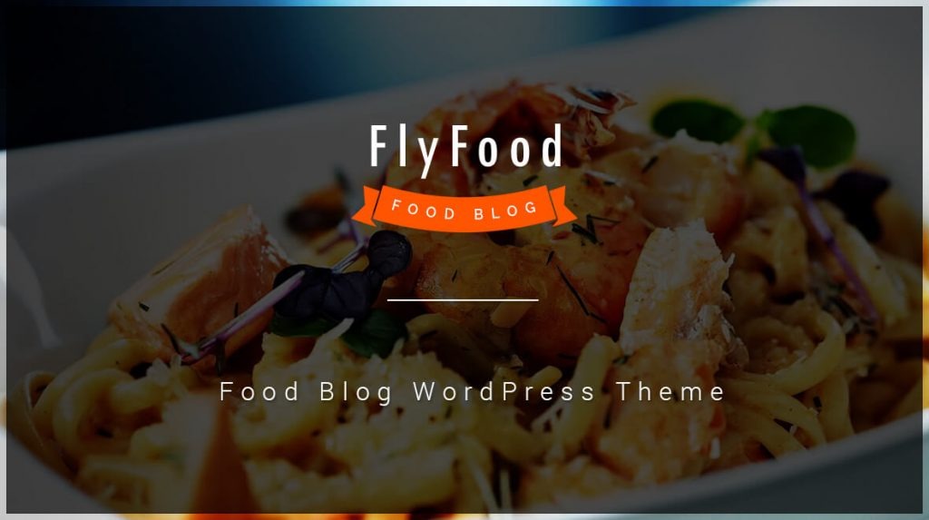 Food Blog WordPress Theme